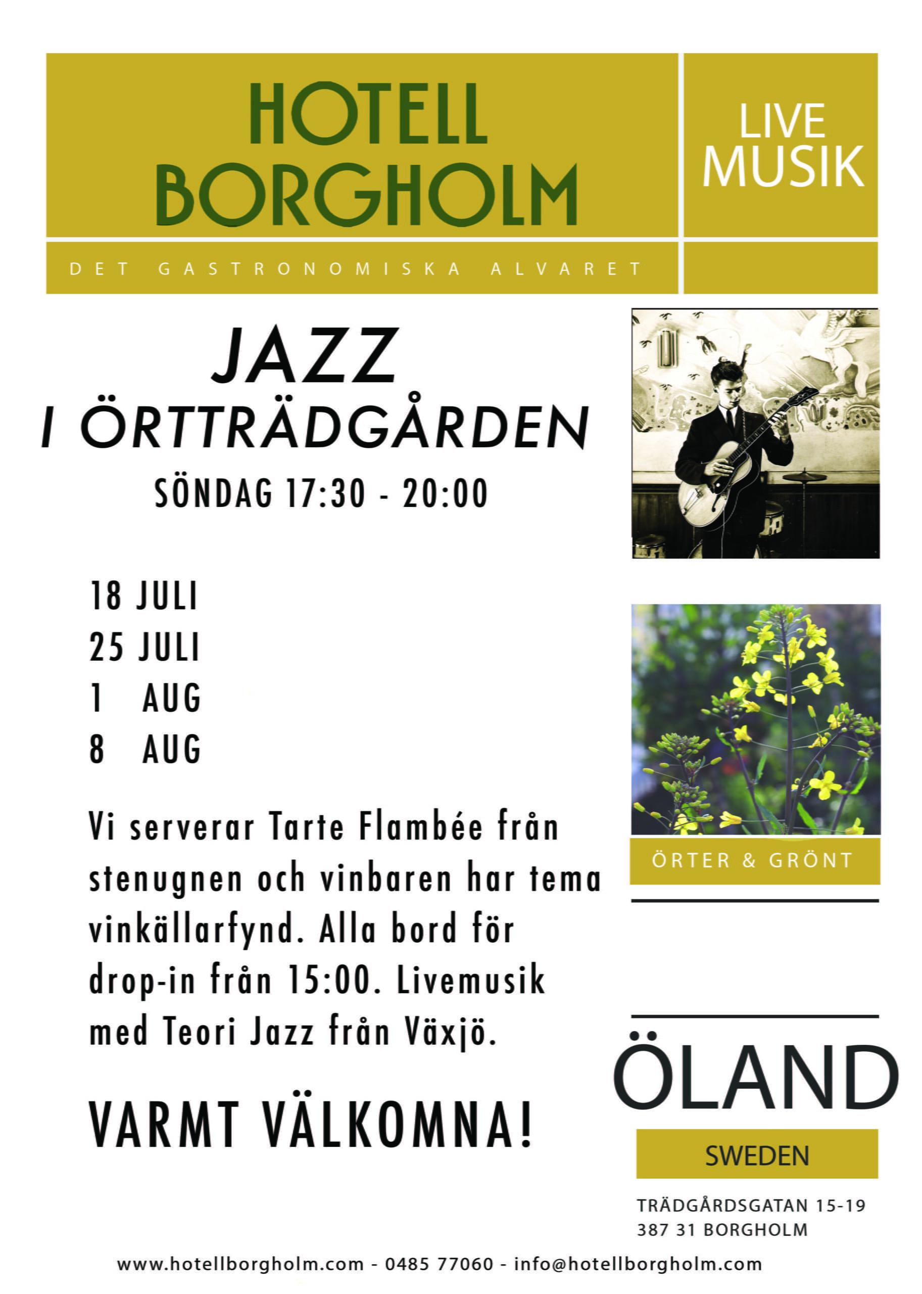 Jazz i Örtträdgården